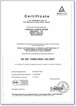 mplanti sertifikat iso 13485