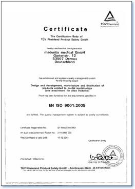 implanti sertifikat iso 9001